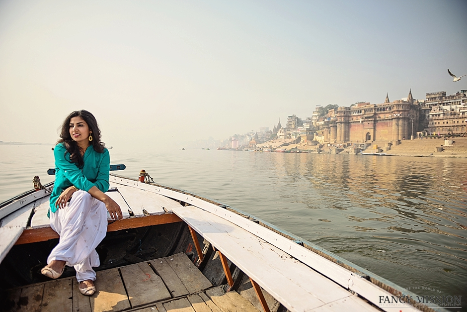 Photos of India, Fashion shoot in India Varanasi