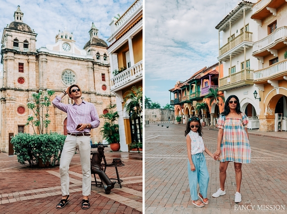 A fairytale family summer vacation in Cartagena Colombia