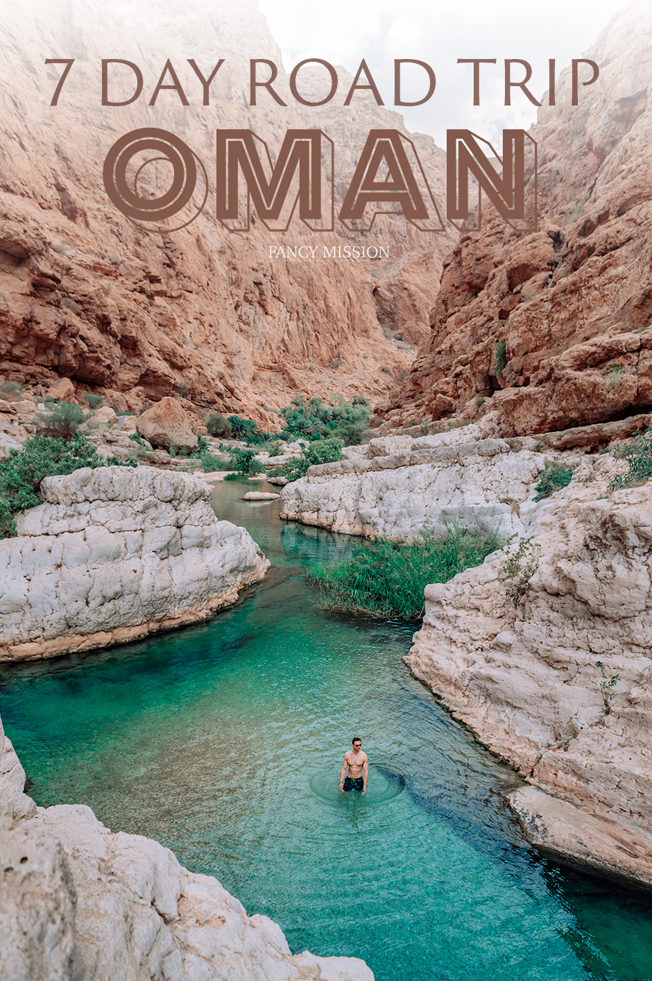 Seven day road trip in Oman